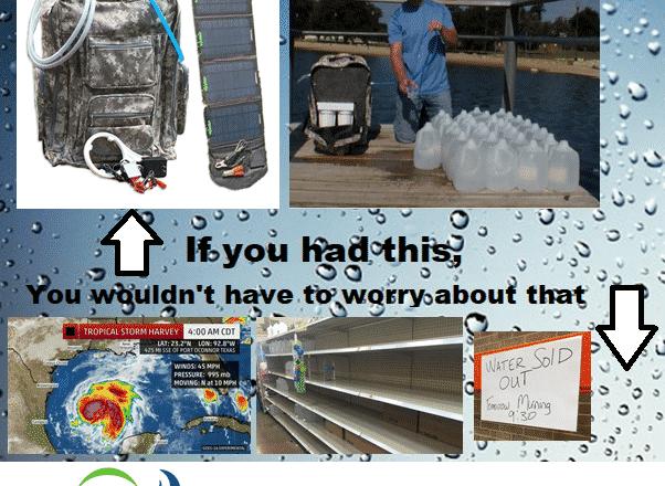 No Water? No Problem!