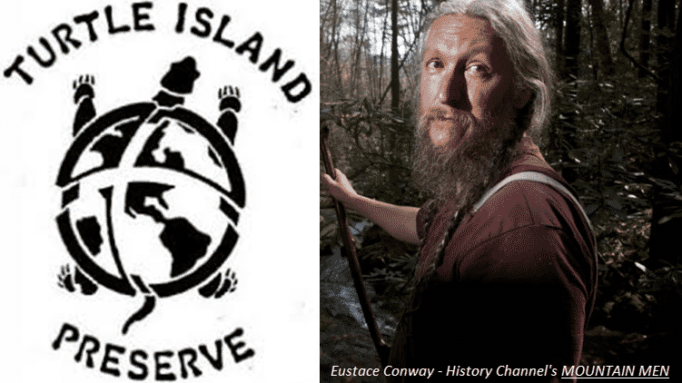 SAVE $250 and Help Benefit Eustace Conway's TURTLE ISLAND PRESERVE!